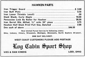 Log Cabin Shop ad