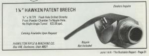 Hamilton Breech Plug ad