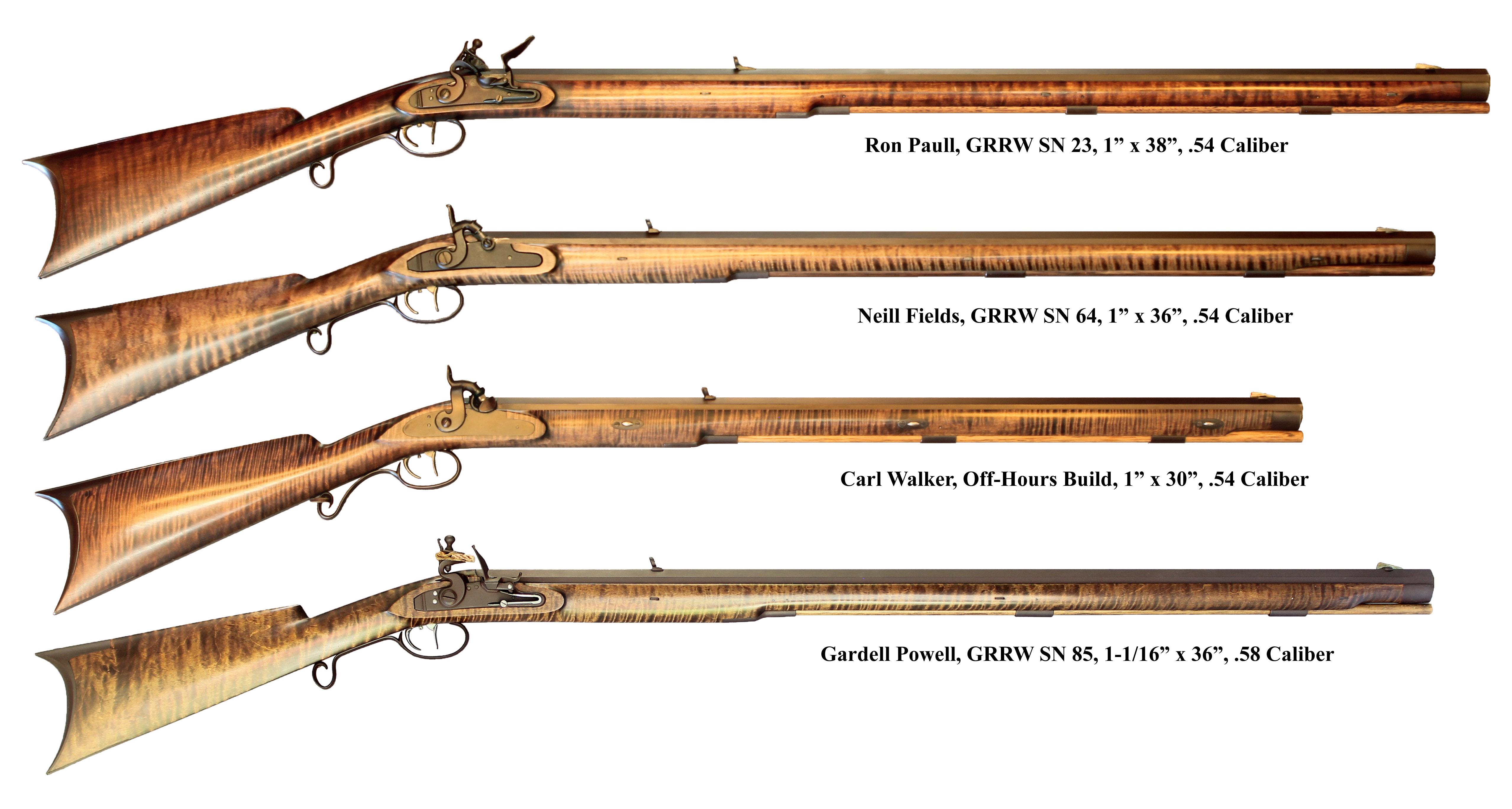 GRRW Bobs & Phils Fullstock Hawken Rifles