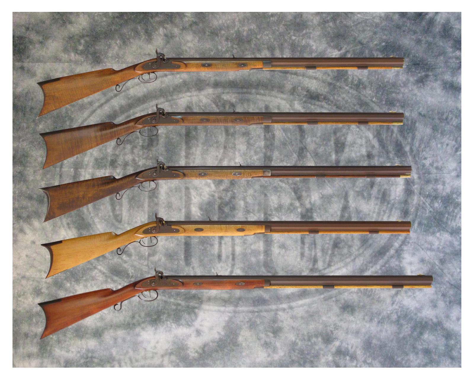 Carl Walker's GRRW Hawken Rifles