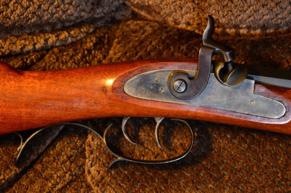 GreenLock and Guard on River Barrel Co marked rifle