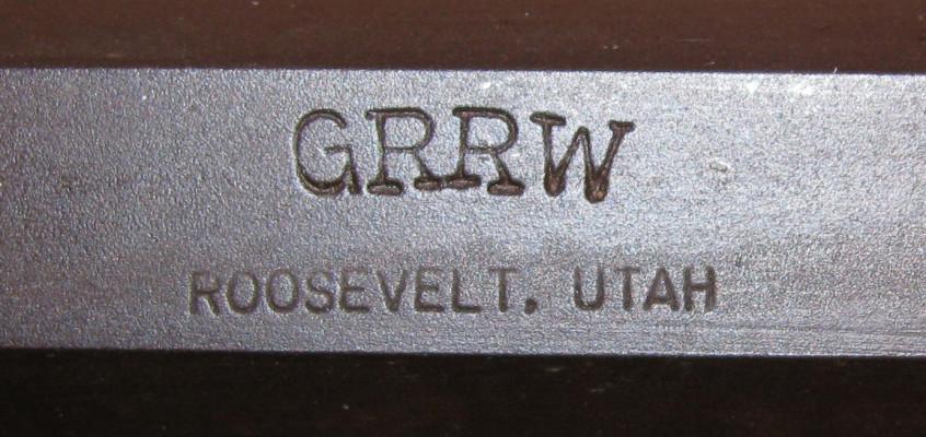 Green River Rifle Works Barrel Markings