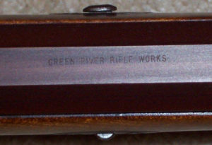 Green River Rifle Works stamp on H-020