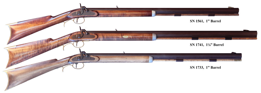 Leman Trade Rifles Barrel Size Comparison
