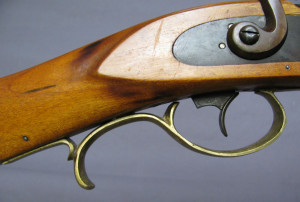 Commercial Trigger Guard on early Leman Trade Rifle