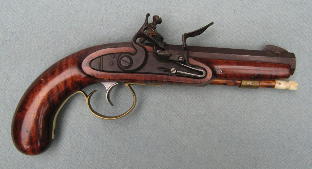 O Scurlock's GRRW flintlock Trappers Pistol
