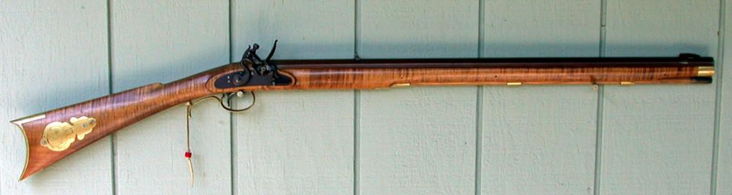 GRRW Leman Indian Rifle assembled from a kit.