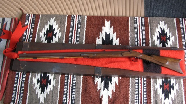 Bridger Commemorative Hawken #10 with box and wool cover