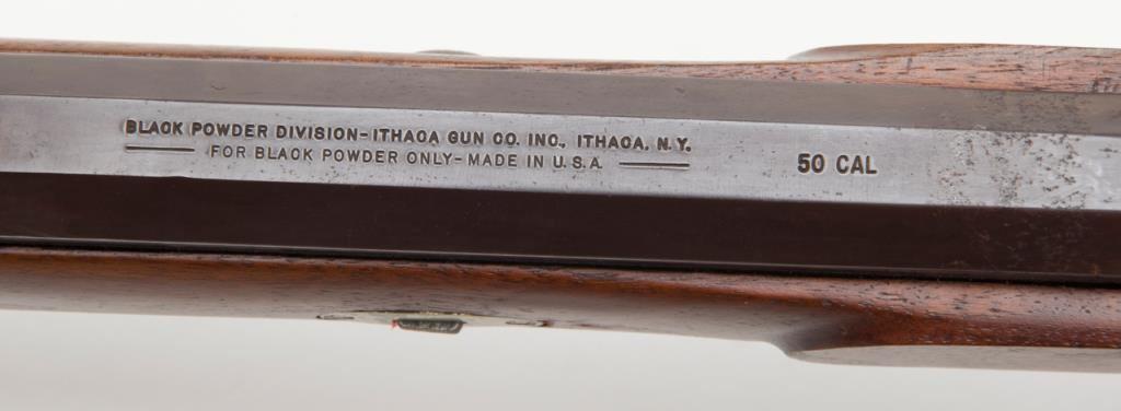 Ithaca Hawken barrel markings