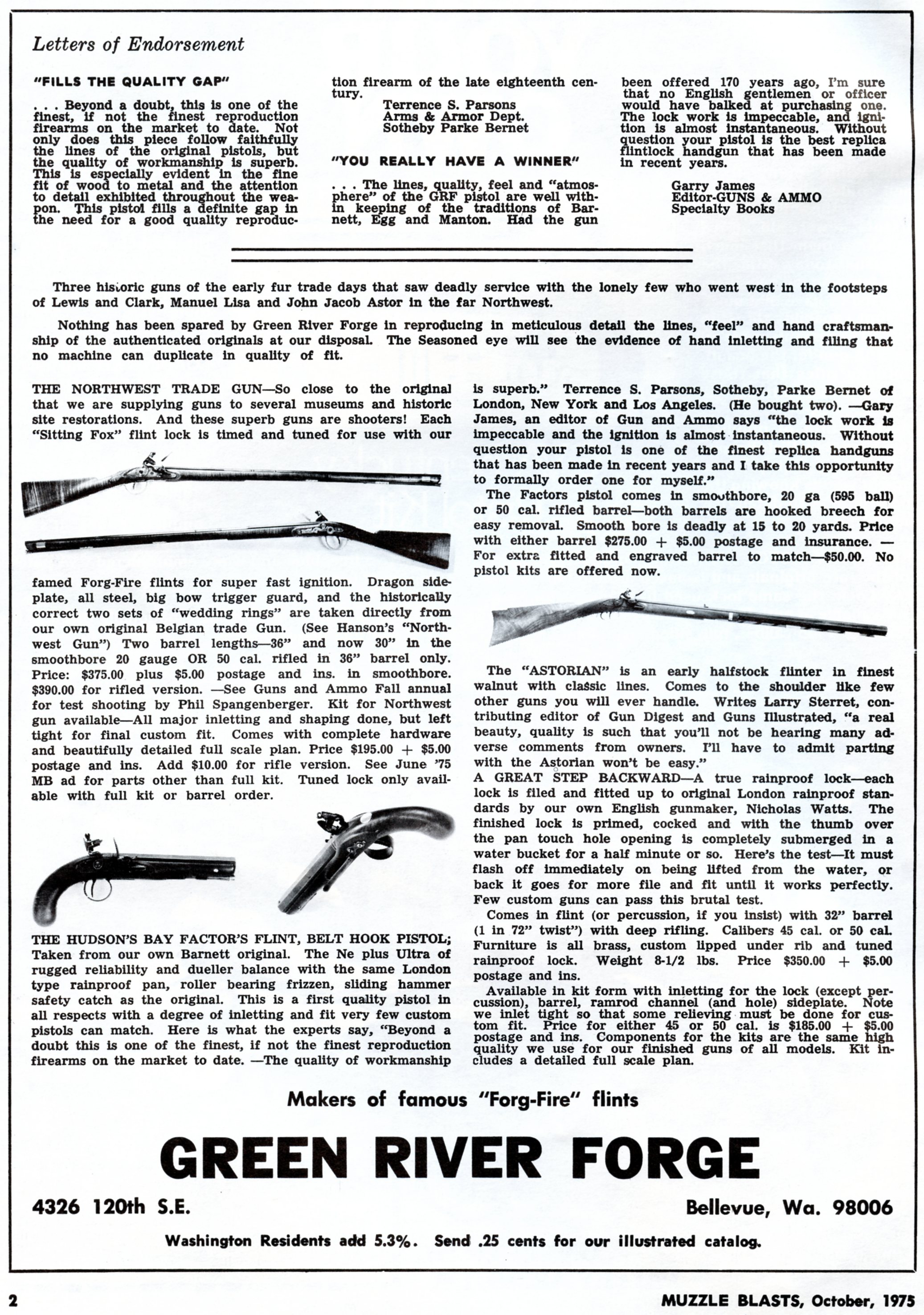 Green River Forge ad