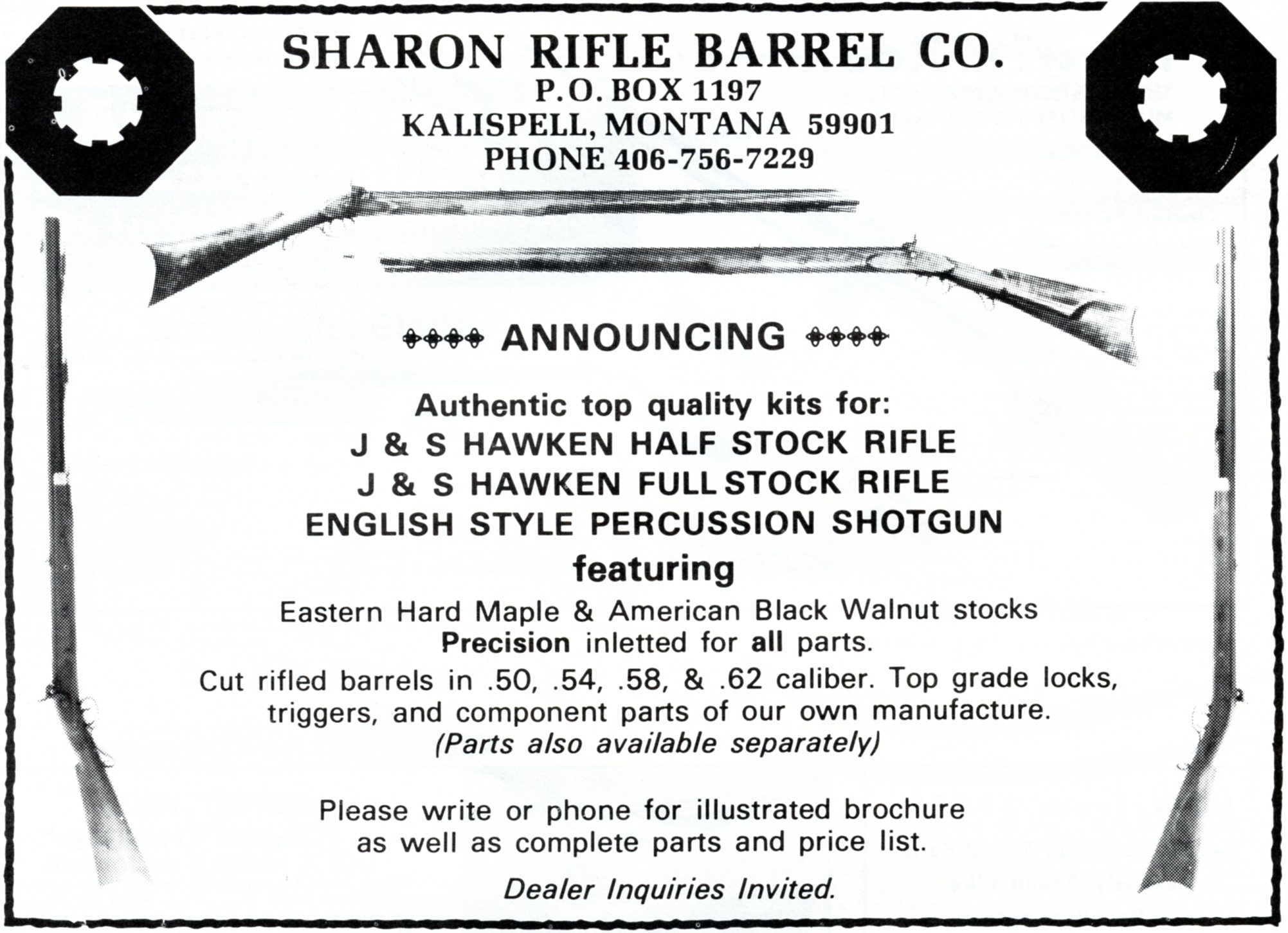 Sharon Rifle Barrel Co – GRRW Collector