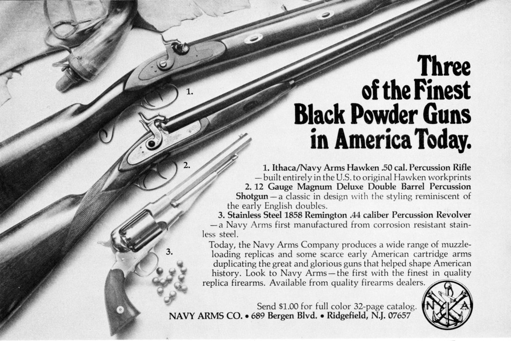1st Navy Arms-Ithaca Hawken ad