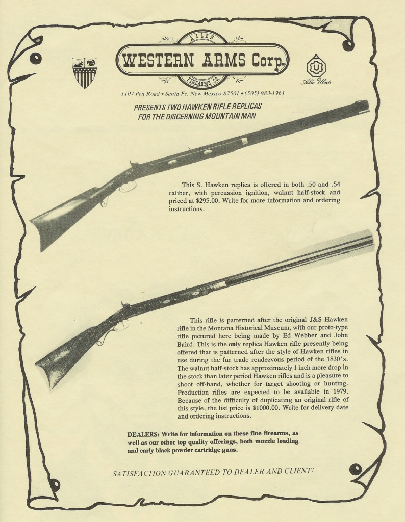 Western Arms ad