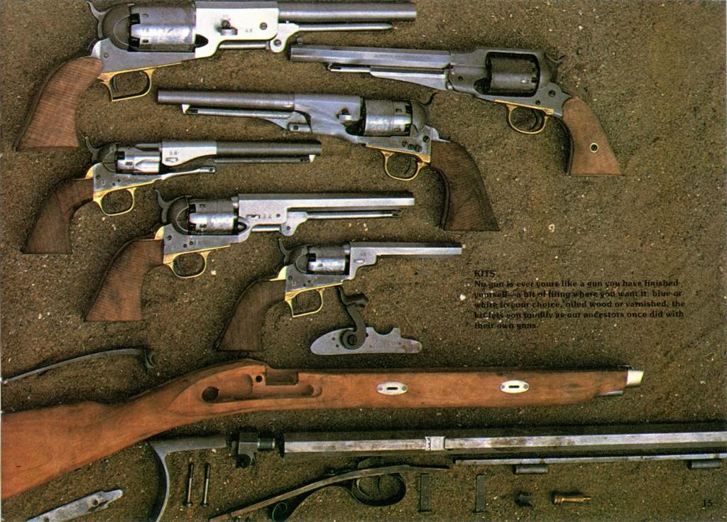 83 Allen Firearms Catalog Santa Fe Hawken kit pg 15