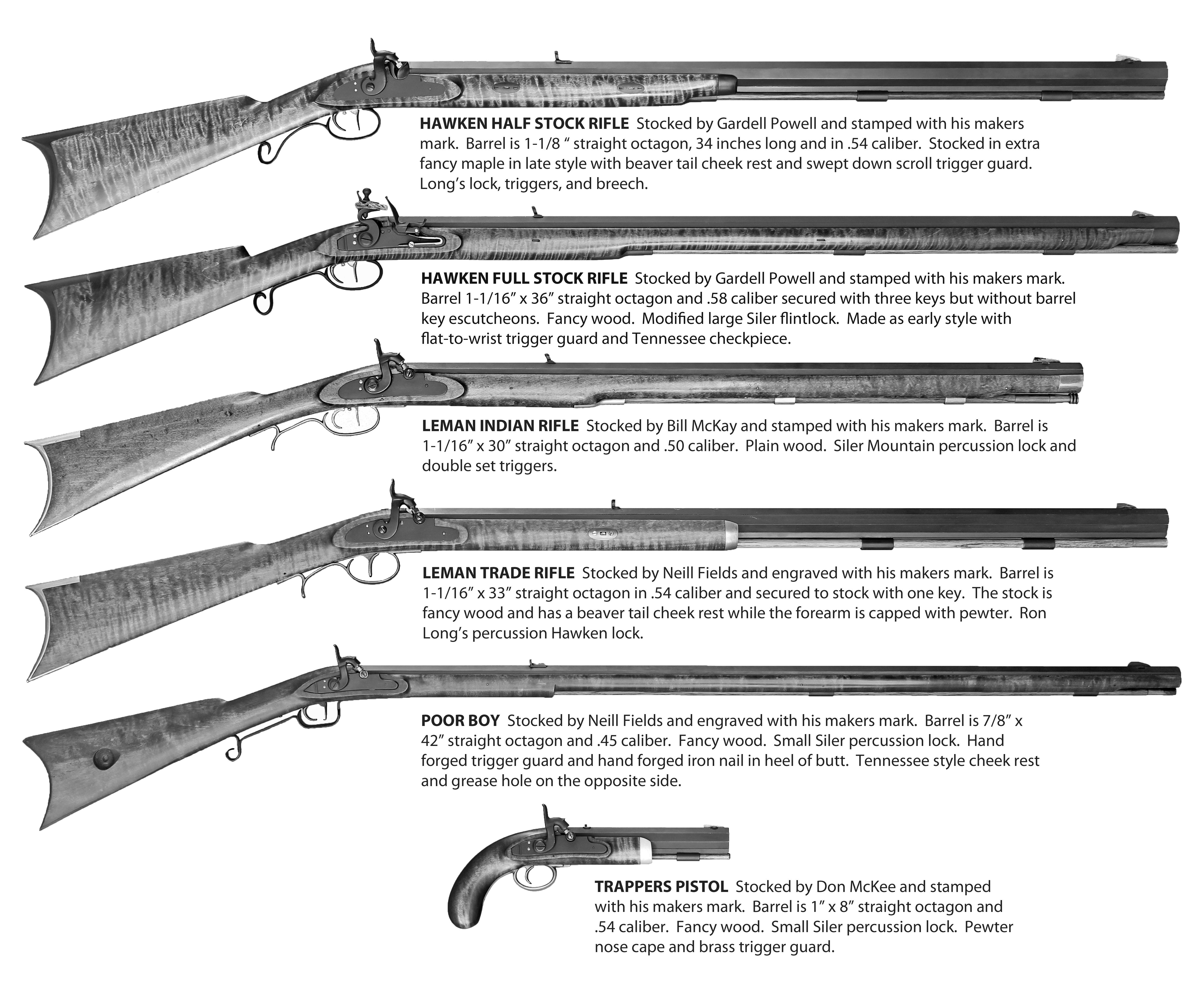 Basic GRRW Gun Collection – GRRW Collector