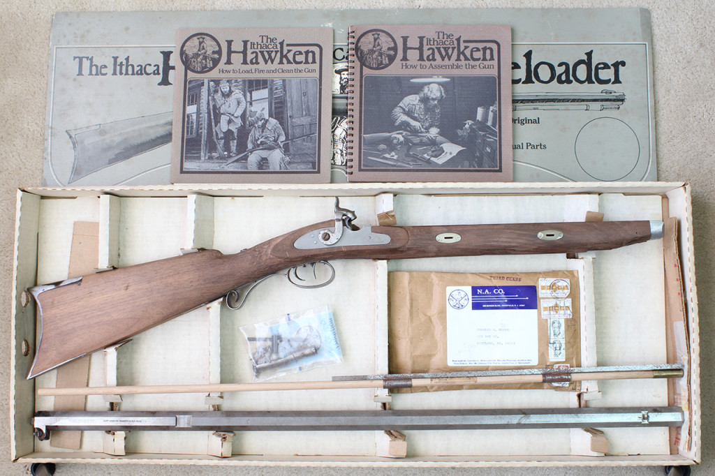 Navy Arms/Ithaca Hawken kit in the box