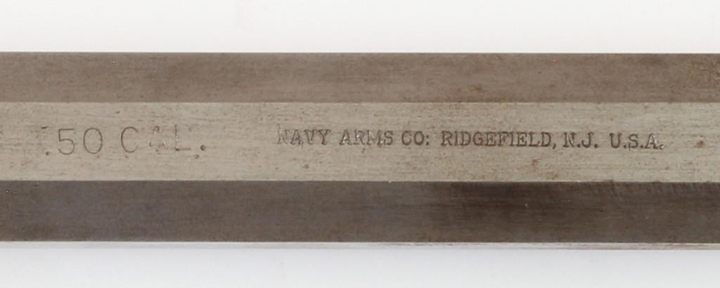 Navy Arms/Ithaca Hawken barrel stamp