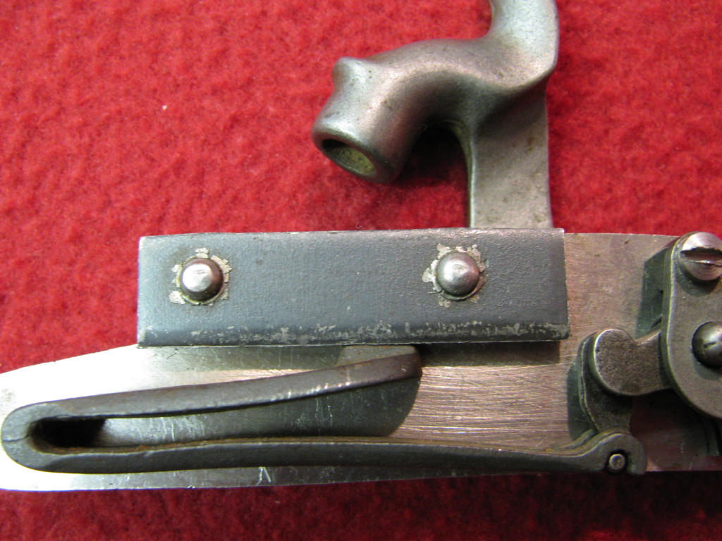 Cherry Corners lock - riveted bolster