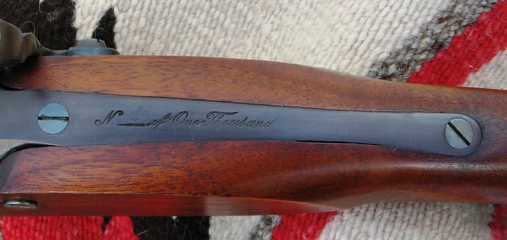Jedediah Smith Commemorative Hawken Limited Edition Numbering