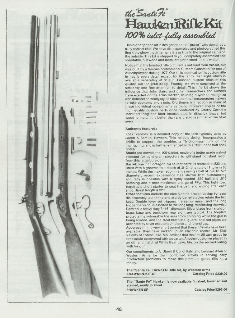 Santa Fe kit TOTW Catalog No 8